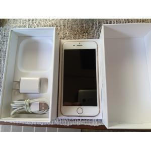 海外版完全SIMフリー iPhone6 64GB Gold 美品 A1586