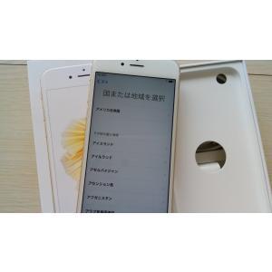 SIMフリー iPhone6S 本体 16GB ゴールド サ...