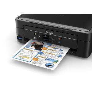 海外並行 EPSON L485 複合機 メーカー純正連続インクタンク供給システム搭載 複合機 日本語環境 モノクロ約4500枚分 カラー印刷最大6500枚分のインク付
