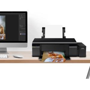 海外並行 EPSON L805 フォトプリンタ Wi-Fi 高速印刷6色写真プリンタ A4まで メーカー純正連続インクタンク供給システム搭載 インク同梱済