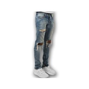 M1 DENIM ミニマル デニム 【MEN'S】 blue 17ML-SP150P-BL|sneakerplusone