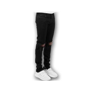 M1 DENIM ミニマル デニム 【MEN'S】 black 17ML-SP150P-BK|sneakerplusone