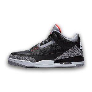 AIR JORDAN 3 RETRO OG 'BLACK CEMENT' エア ジョーダン 3 レトロ ブラック セメント 【MEN'S】 black/cement grey-white-fire red 854262-001