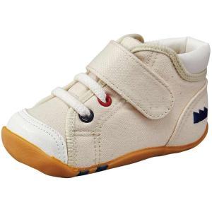 ムーンスター ベビー靴 CR B63 ナチュラル MADE IN JAPAN|sneakers-trend