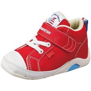 ムーンスター ベビー靴 CR B65 カラー レッド |sneakers-trend