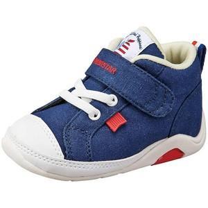 ムーンスター ベビー靴 CR B65 カラー ネイビー|sneakers-trend