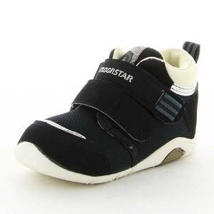 ムーンスター ベビー靴 ベビーシューズ CR B75 ブラック |sneakers-trend