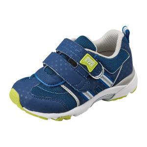 子供靴  スニーカー 幅広 3E ムーンスター  CR C2139  カラー ネイビー   sneakers-trend