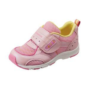 子供靴 スニーカー 速乾シューズ ムーンスターキャロット  CR C2150 カラー ピンク  sneakers-trend