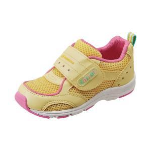 子供靴 スニーカー 速乾シューズ ムーンスターキャロット  CR C2150 カラー イエロー  sneakers-trend