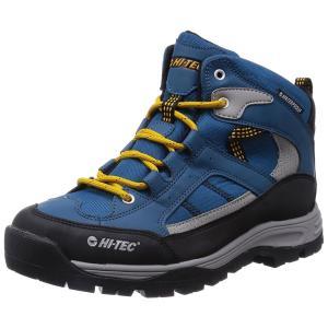 アウトドア トレッキング メンズシューズ HT TRM732 3E ブルー HI-TEC ハイテック|sneakers-trend