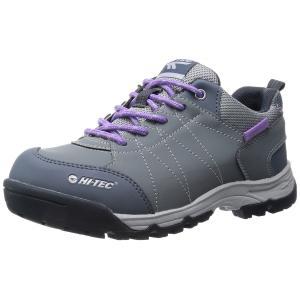 アウトドア トレッキング レディースシューズ HT TRW701 グレイ 3E HI-TEC ハイテック|sneakers-trend