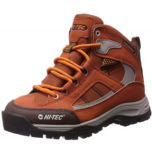 アウトドア トレッキング レディースシューズ HT TRW733 オレンジ 3E HI-TEC ハイテック|sneakers-trend