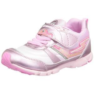 子供靴 バネのチカラ ムーンスター SS K766 ピンク 女の子 キッズ スニーカー|sneakers-trend