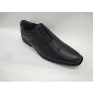 お買い得品 ビジネスシューズ 冠婚葬祭 本革 ストレートチップ ブラック KYM-0021 3E幅広 sneakers-trend