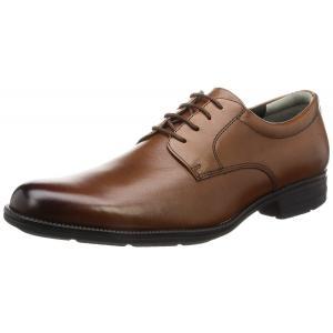 ビジネスシューズ 本革 プレーントゥ メンズ 茶 ブラウン SPH4600 歩きやすい sneakers-trend