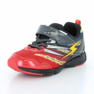 子供靴 バネのチカラ ムーンスター SSK914 ブラック 男の子 キッズ スニーカー|sneakers-trend