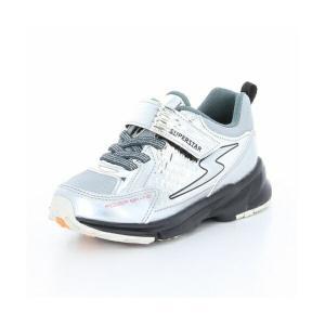 子供靴 バネのチカラ ムーンスター SSK916 シルバー 3E 男の子 キッズ スニーカー|sneakers-trend