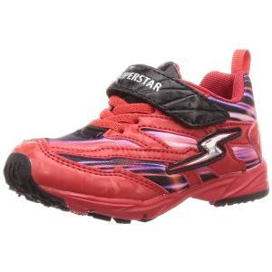 子供靴 バネのチカラ ムーンスター SSK919 RD レッド 2E 男の子 キッズ スニーカー|sneakers-trend