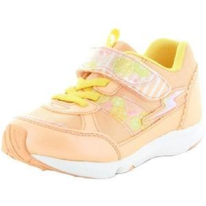 子供靴 バネのチカラ ムーンスター SSK935 OR オレンジ 2E 女の子 キッズ スニーカー|sneakers-trend
