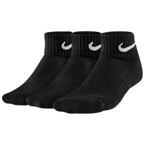 ナイキ Nike 3Pack  モイスチャー MGT  キューション  Socks ブラック/ホワイト サイズ:L|sneakersuppliers