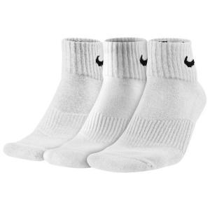 ナイキ Nike 3Pack モイスチャー MGT  キューション  Socks   ホワイト/ブラック  サイズ:L|sneakersuppliers
