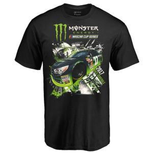 Fanatics Branded Black 2017 Monster Energy NASCAR Cup Series Inaugural Schedule T-Shirt Men's サイズ:M|sneakersuppliers