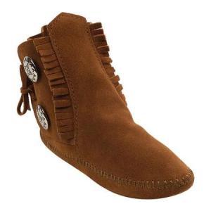 ユニセックス ブーツ Minnetonka Two Button Boot Softsole (Women's) sneakersuppliers