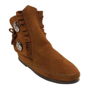 ユニセックス ブーツ Minnetonka Two Button Boot Hardsole (Women's) sneakersuppliers