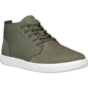 ユニセックス シャツ トップス Timberland Groveton Plain Toe Leather and Fabric Chukka (Men's)|sneakersuppliers