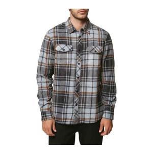 ユニセックス シャツ トップス O'Neill Glacier Plaid Long Sleeve Shirt (Men's)|sneakersuppliers