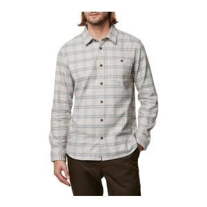 ユニセックス シャツ トップス O'Neill Redmond Flannel Long Sleeve Shirt (Men's)|sneakersuppliers