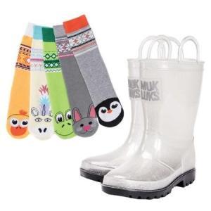 ユニセックス ブーツ MUK LUKS Molly Rain Boot with 5 Pack So...