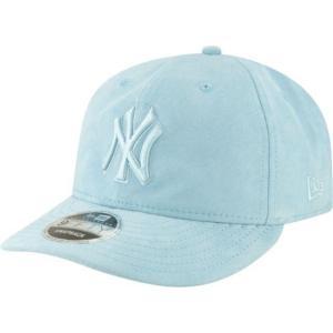 ニューエラ メンズ 帽子 キャップ Men's New York Yankees 9Fifty Suede Retro Blue Adjustable Snapback Hat|sneakersuppliers