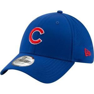 ニューエラ メンズ 帽子 キャップ Men's Chicago Cubs 39Thirty Perf Play Stretch Fit Hat|sneakersuppliers