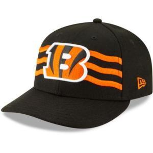 ニューエラ メンズ 帽子 キャップ Men's Cincinnati Bengals 2019 NFL Draft 59Fifty Fitted Black Hat|sneakersuppliers