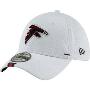 ニューエラ メンズ 帽子 キャップ Men's Atlanta Falcons Sideline Training Camp 39Thirty Stretch Fit White Hat|sneakersuppliers