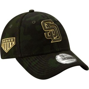 ニューエラ メンズ 帽子 キャップ Men's San Diego Padres 9Forty Armed Forces Adjustable Hat|sneakersuppliers