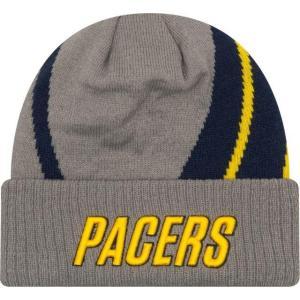ニューエラ メンズ 帽子 キャップ Men's Indiana Pacers City Edition Knit Hat|sneakersuppliers