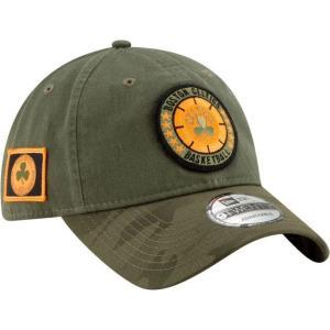 ニューエラ メンズ 帽子 キャップ Men's Boston Celtics 9Twenty On-Court Camo Adjustable Hat|sneakersuppliers
