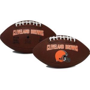 ローリングス ユニセックス アクセサリー Cleveland Browns Game Time Full-Size Football|sneakersuppliers