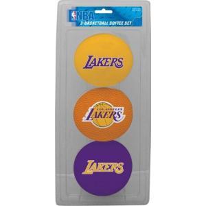 ローリングス ユニセックス アクセサリー Los Angeles Lakers Softee Basketball Three-Ball Set|sneakersuppliers