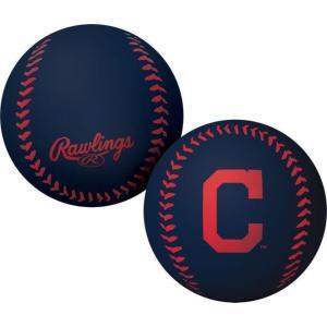ローリングス ユニセックス アクセサリー Cleveland Indians Big Fly Bouncy Baseball|sneakersuppliers
