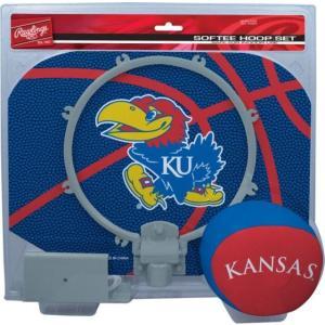 ローリングス ユニセックス アクセサリー Kansas Jayhawks Softee Slam Dunk Hoop Set|sneakersuppliers