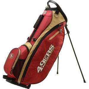 ウィルソン ユニセックス 鞄 リュック San Francisco 49ers Stand Golf Bag sneakersuppliers