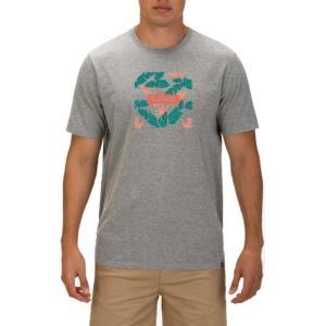 ハーレー メンズ シャツ トップス Men's Premium Box Floral Short Sleeve T-Shirt|sneakersuppliers