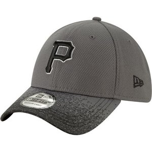 ニューエラ ユニセックス 帽子 キャップ Youth Pittsburgh Pirates 39Thirty Blur Visor Stretch Fit Hat|sneakersuppliers
