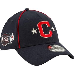 ニューエラ ユニセックス 帽子 キャップ Youth Cleveland Indians 39Thirty 2019 MLB All-Star Game Stretch Fit Hat|sneakersuppliers