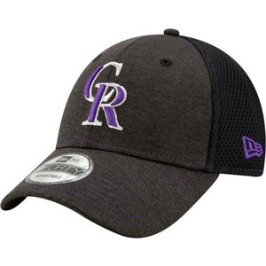ニューエラ ユニセックス 帽子 キャップ Youth Colorado Rockies 9Forty Team Tread Adjustable Hat|sneakersuppliers