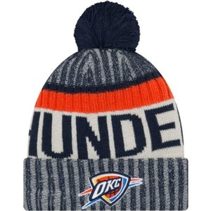 ニューエラ ユニセックス 帽子 キャップ Youth Oklahoma City Thunder Knit Hat|sneakersuppliers